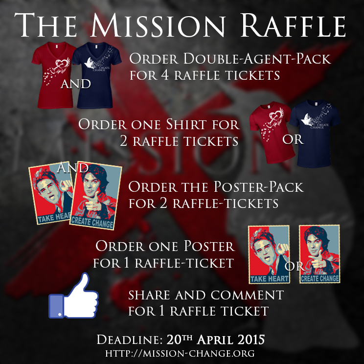 Mission Change Raffle
