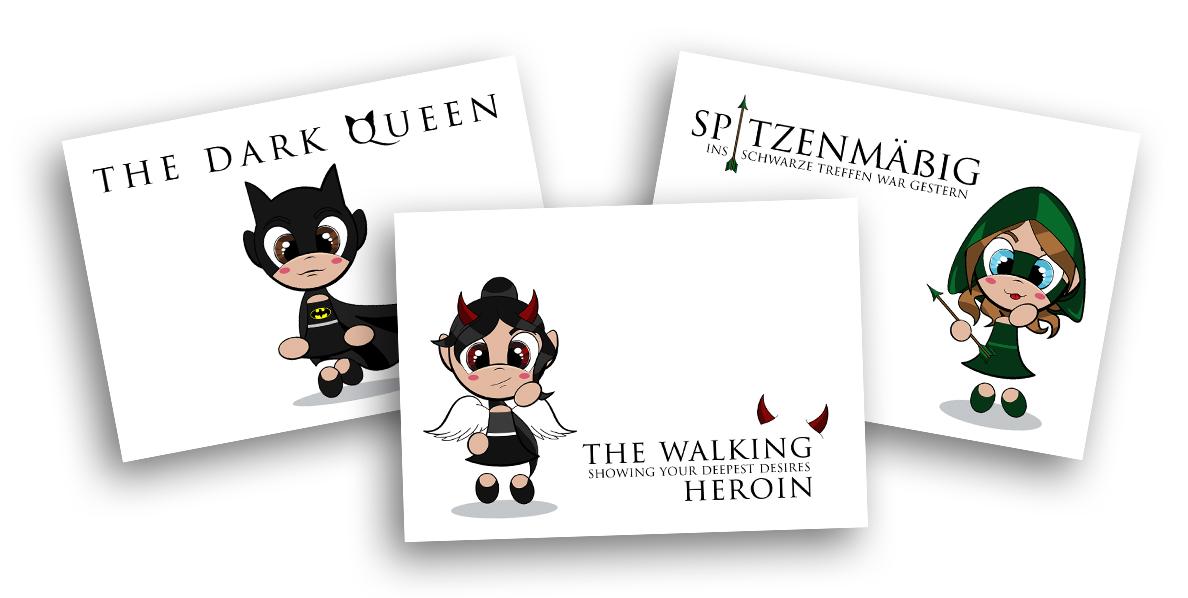 heroines-cards